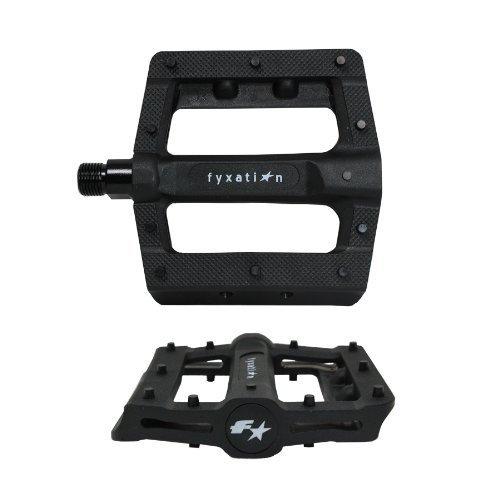 Fyxation Gates Slim Platform Pedal Black