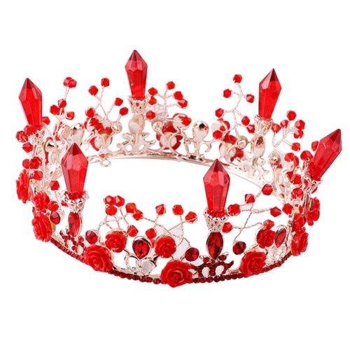 Beautiful Alloy Material Rhinestone Bride Wedding Head Accessories Crown