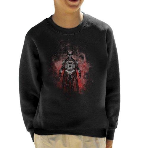 Thulsa Doom Silhouette Conan The Barbarian Kid's Sweatshirt