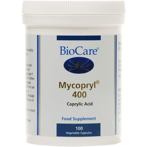 Biocare Mycopryl 400 (medium Strength Caprylic Acid) 100 Capsules