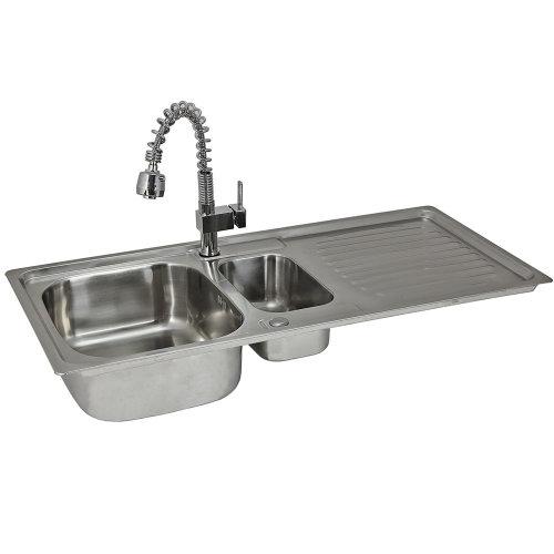 Premium Stainless Steel Kitchen Sink & Padstow Tap