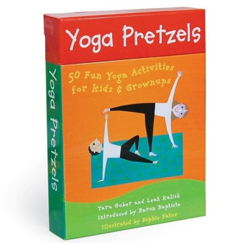 Barefoot Books BBK9781905236046BN 2 Each Yoga Pretzels Activity Cards