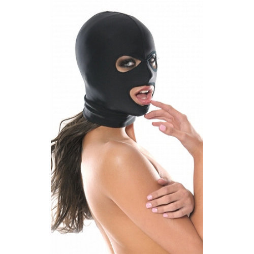 Spandex 3 Hole Hood  BDSM Masks - Fetish Fantasy Series