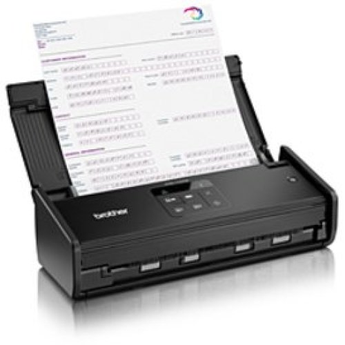 Brother ADS-1100W Compact Document Scanner - Black