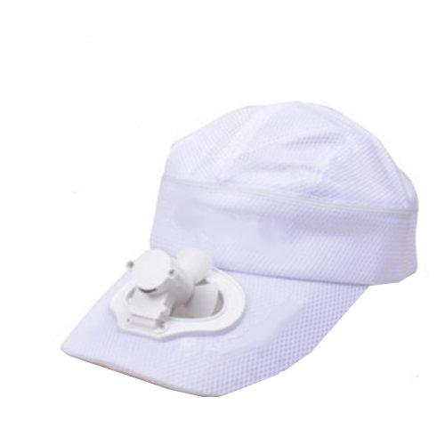 Summer Fan Hat with Fan Fishing Sun Visor Cap#K