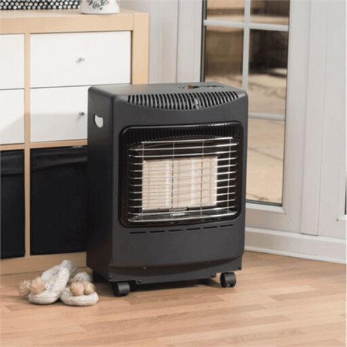 Lifestyle Black Mini Heatforce 4.2kw Radiant Portable Gas Heater