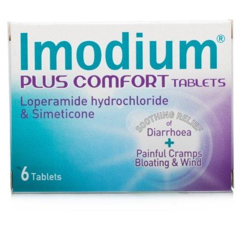 Imodium Plus Comfort 6 Tablets