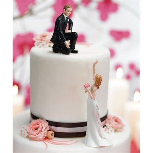Weddingstar 7095 Groom  Lending a Hand  Mix & Match Cake Topper- Groom Only