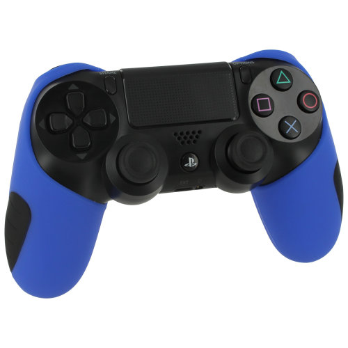 ZedLabz Blue SG-1 Silicone Sony PS4 Controller Cover | Blue PS4 Controller Grip