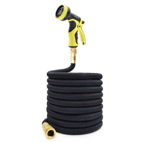 Garden Hose, Homeme 100 Feet Newest Expandable Strongest Magic Hose Pipe