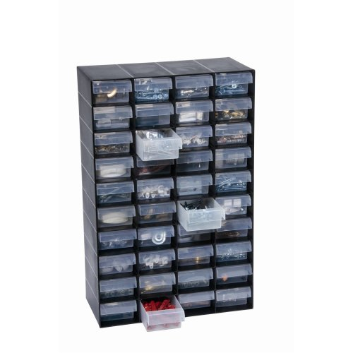 40 Multi Drawer Plastic Storage Cabinet For Home Garage Or Shed