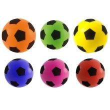 3 x 17.5cm Sponge Football Foam Outdoor Indoor Kids Fun Play Game Soccer Toy