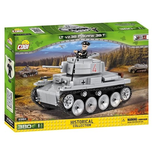 COB02384 - Cobi - Small Army - LT vz. 38 PzKpfw 38(t) (380 Pcs)