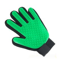 Pet Grooming Glove for Dogs Cats Horses Gentle Brush Glove Left