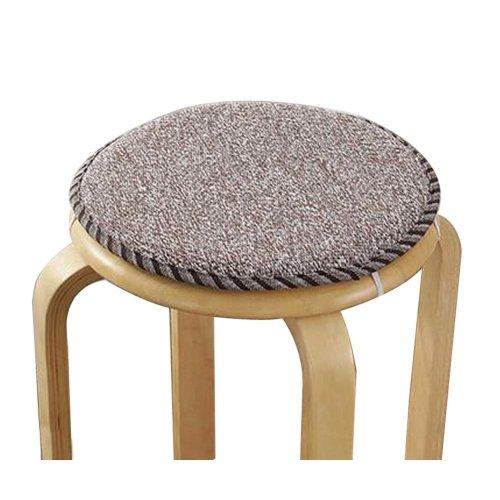 [K] Soft Round Stool Cover Bar Stool Seat Pad