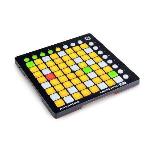 Novation Launchpad Mini MKII Compact USB Grid Controller for Ableton Live