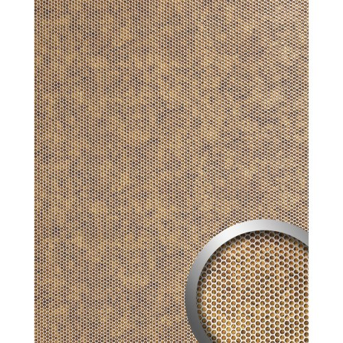 WallFace 17243 RACE Wall panel self-adhesive 3D embossed bronze silver 2.6 sqm