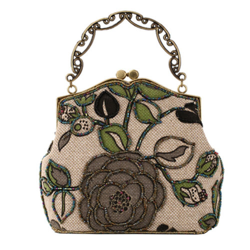 Women's Vintage Style Clutch Evening Bag Elegant  Luxurious Handbag Purse-Banquet-Cocktail Party,G