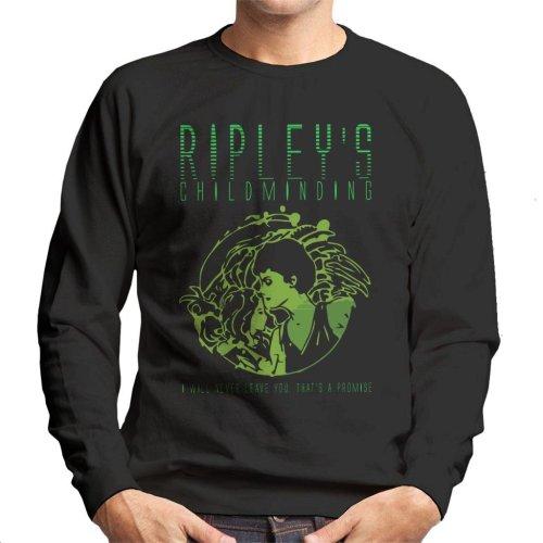 Ripleys Childminding Aliens Men's Sweatshirt