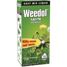 Weedol Lawn Weedkiller Liquid Concentrate Bottle 500ml