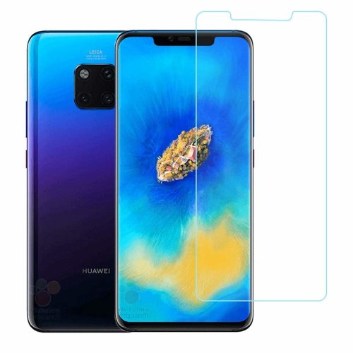 iPro Accessories Huawei Mate 20 Pro Tempered Glass Screen Protector, Huawei Mate 20 Pro Screen Protector Tempered Glass [Compatible With Huawei Mate 20 Pro Case] 9H hardness Supporting 3D Touch Best Glass for Huawei Mate 20 Pro