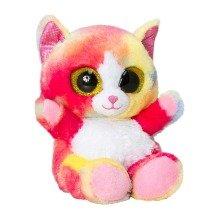 Keel Animotsu Rainbow Cat Soft Toy 15cm
