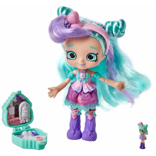 Shopkins Lil Secrets Shoppies Dolls Peppa Mint On Onbuy