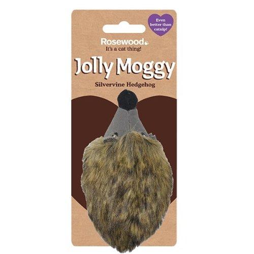 Jolly Moggy Silvervine Hedgehog (Pack of 3)