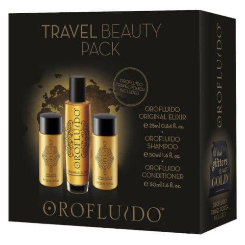 Orofluido Travel Beauty 3 Pack Shampoo+Original Elixir+Conditioner