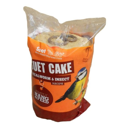 Suet To Go Cake With Insect 350g (Pack of 8)
