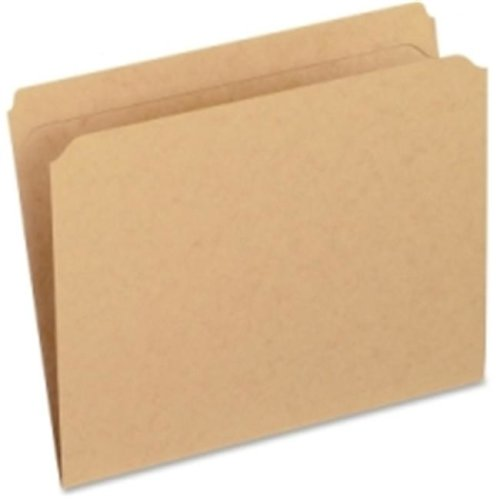 Pendaflex RK152 2-5 RE Reinforced Straight Cut Kraft File Folders, Pack Of 5