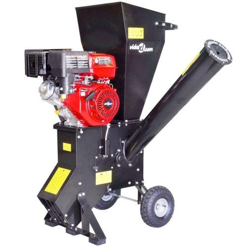 vidaXL Petrol-powered Wood Chipper with 15 HP Motor