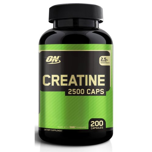 Optimum Nutrition Creatine 2500 Capsules Pack of 200