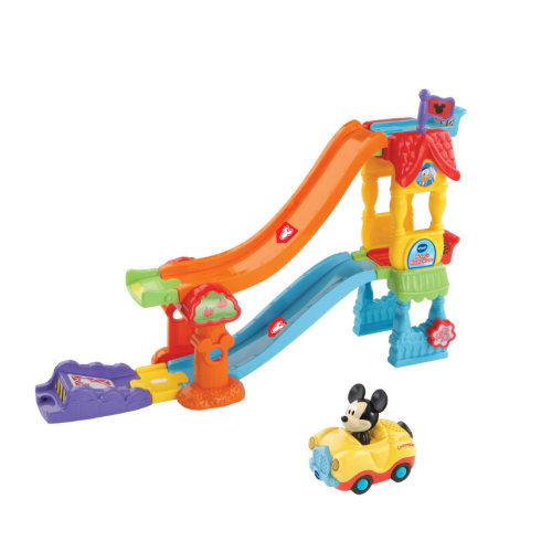 Vtech Toot-Toot Drivers Disney Mickey Happy House Comes With Mickey Convertible  Ages 1- 5 Years