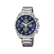 Festina F6861/3 Chronograph Blue Dial Stainless Steel Mens Watch