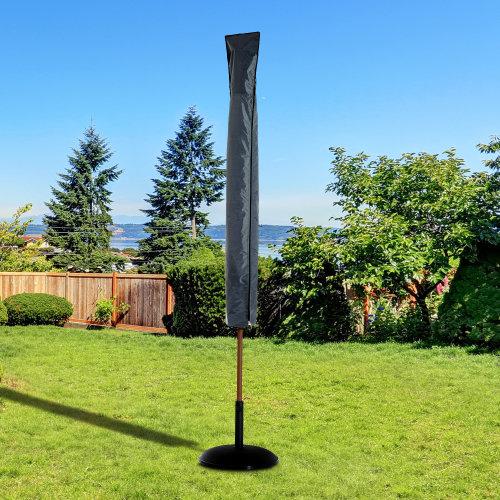 Outsunny Garden Parasol Cover Waterproof Outdoor Courtyard Umbrella Protector