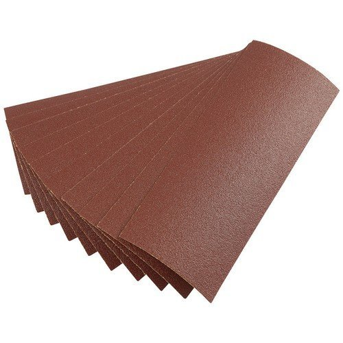 Draper 59465 Ten 232 x 92mm 80Grit Aluminium Oxide Sanding Sheets