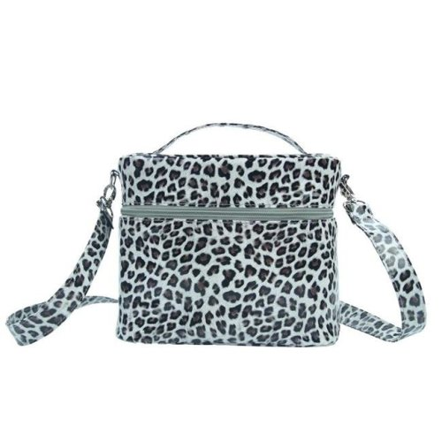 Picnic Gift 7224-CT Mojito-Four In One Insulated Cosmetics Bag, Cheetah