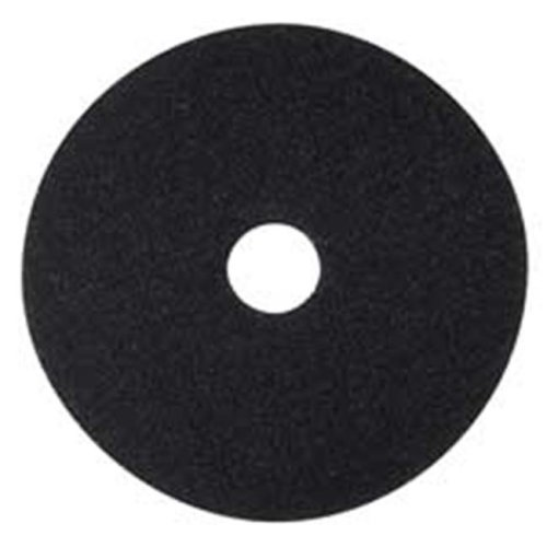 3M MMM08379 Stripping Pad- 17in.- 5-CT- Black