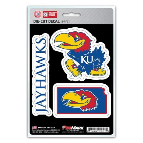 Pro Mark DST3U027 Kansas Decal - Pack of 3