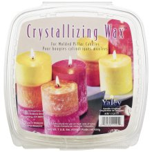 Crystallizing Candle Wax 1lb-For Pillars & Votives