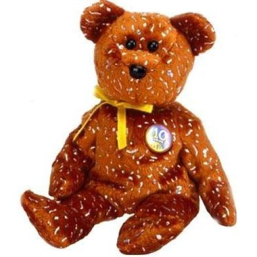 6e0c60a5d20eca TY Beanie Baby - DECADE the Bear (Brown Version - Internet Exclusive) [Toy]  on OnBuy