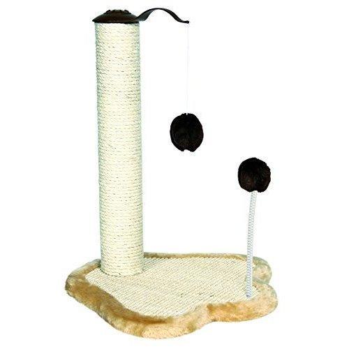 Trixie 4295 Scratching Post With Toys 50cm Beige / Brown - x Kratzpfote Trunk -  x trixie kratzpfote trunk 41 38 50 cm new