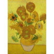 Magnetic Pieces - Van Gogh: Sunflowers,1889