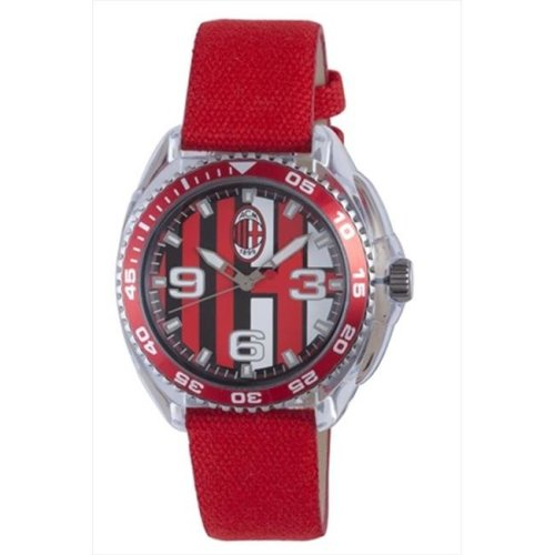 Chronotech AC.6280L-03 Kids Multicolored Dial Watch, Red