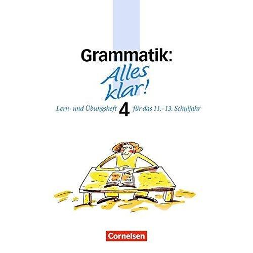 Alles klar! Grammatik. Oberstufe. RSR.