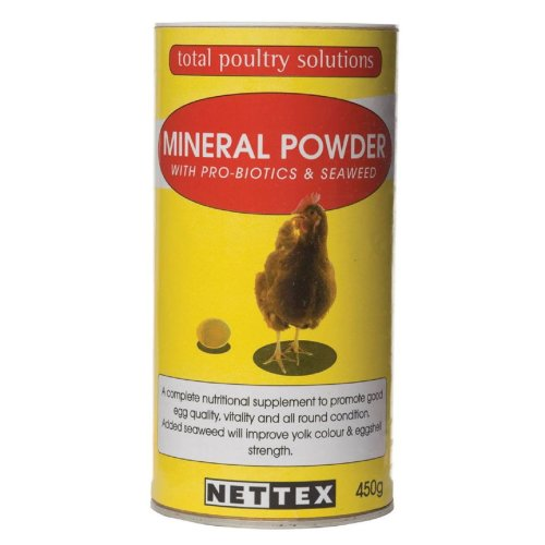 Net-tex Poultry Mineral Powder Probiotics & Seaweed 450g