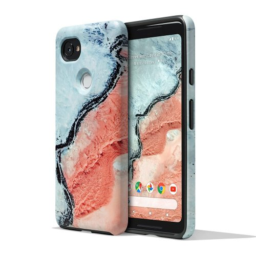 Google Pixel 2 XL Earth Live Landscape Photo Phone Case Cover Active Edge Compatible - River