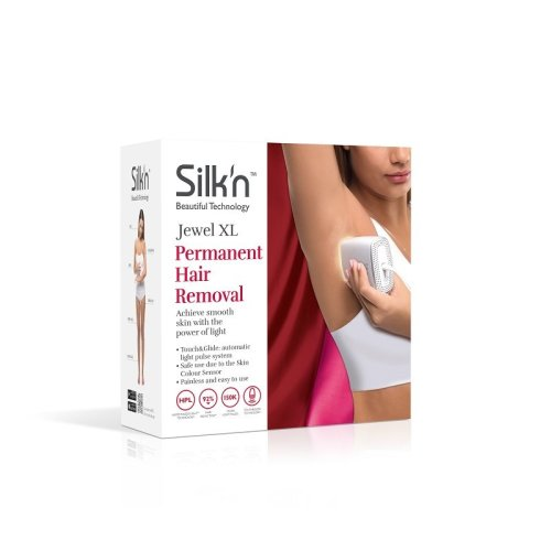 Silk'n Jewel XL 150,000 Pulses HPL Hair Removal System