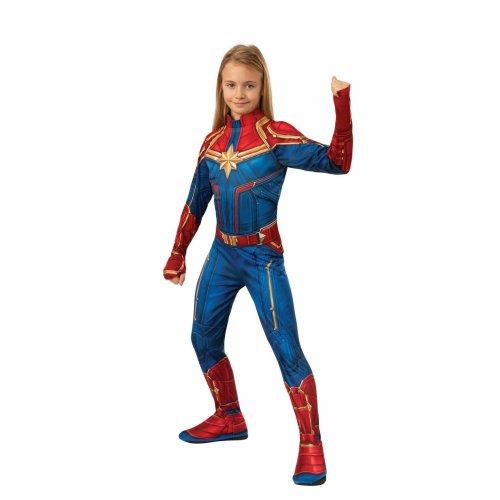 Kids Official Captain Marvel Superhero Costume